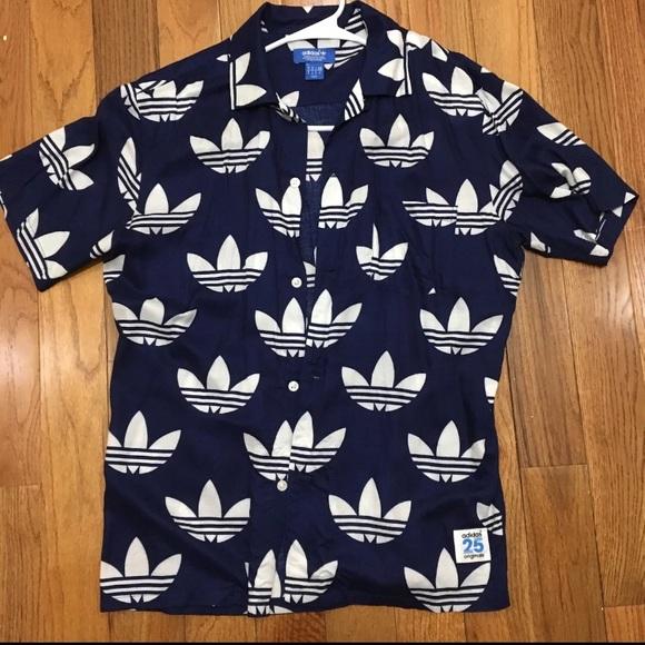 Adidas Original 25 Button Up
